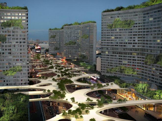 Проект экологической реновации улицы
