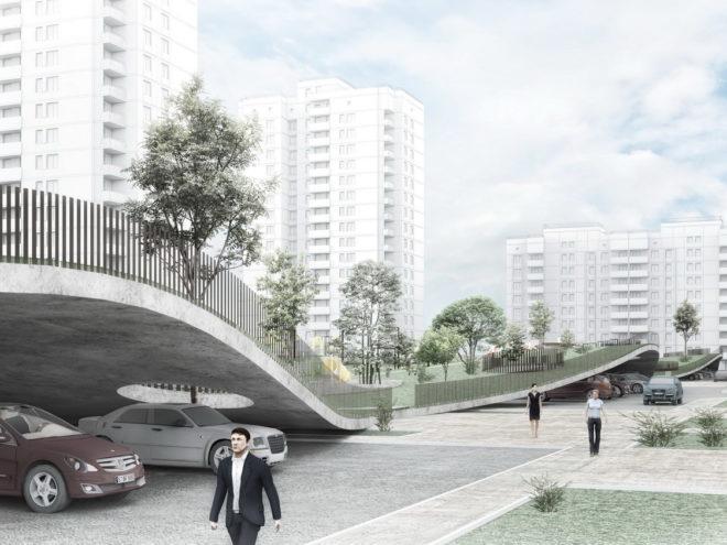 Проект экологической реновации квартала