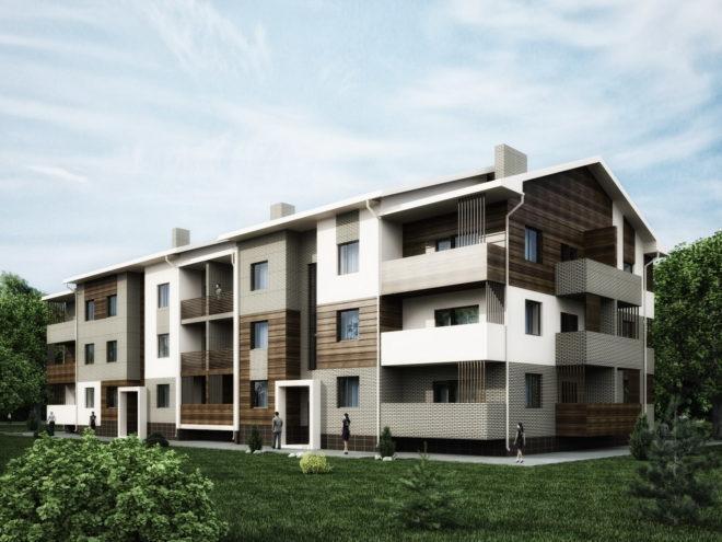 Проект многоквартирного энергоэффективного дома