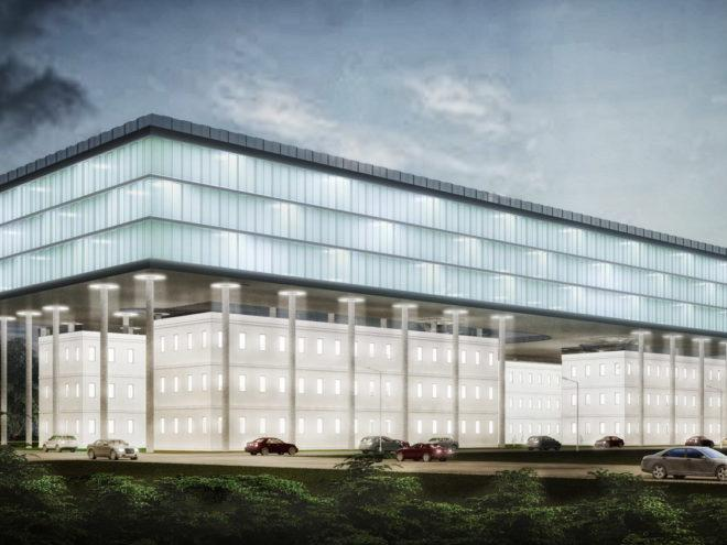 Реконструкция здания института в Москве