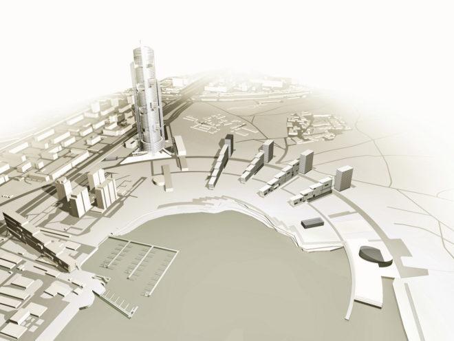 Концепция застройки прибрежной зоны Ленинградского шоссе